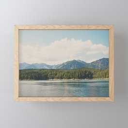 in the shadow of the Alps Garmisch photograph Framed Mini Art Print