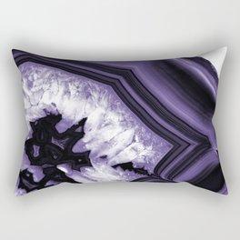 Ultra Violet Agate Chic #1 #gem #decor #art #society6 Rectangular Pillow