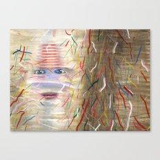 White Dreamer Canvas Print
