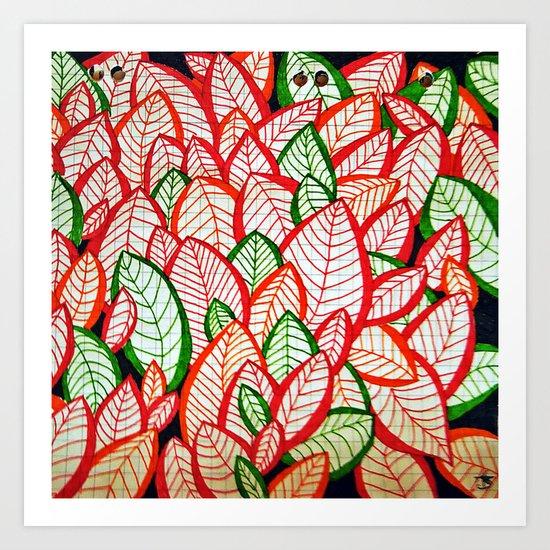 Autumn - Zendoodle Art Print