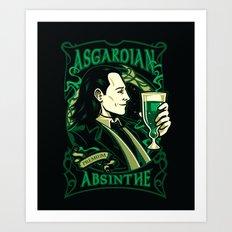 Asgardian Absinthe Art Print