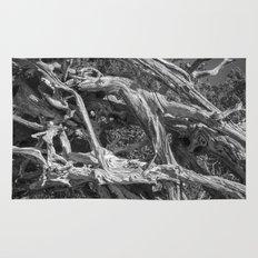 Abstract drift wood Rug