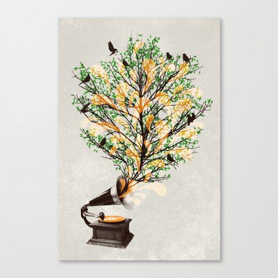 Sound of Nature Canvas Print