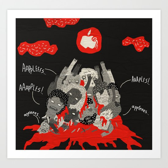 aaaaples Art Print