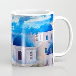 Santorini Dreamscape Coffee Mug