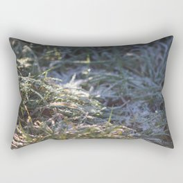 Frosty Underfoot Rectangular Pillow