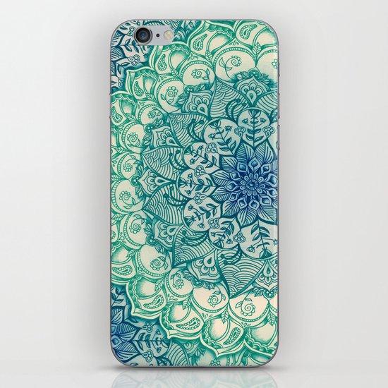 Emerald Doodle iPhone & iPod Skin