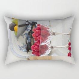 Raspberry desserts Rectangular Pillow