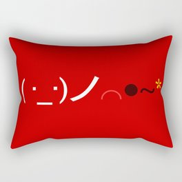 ( ・_・)ノ⌒●~* Bomb! Rectangular Pillow