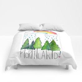 Portland Love Comforters