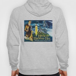 House on Haunted Hill, vintage horror movie poster Hoody