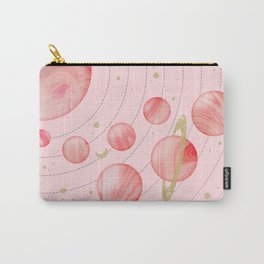 The Pink Solar System Carry-All Pouch