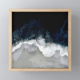 Blue Sea Framed Mini Art Print
