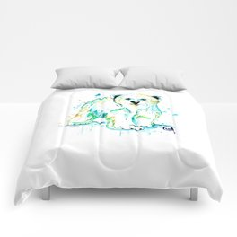 Polar Bear Baby Comforters