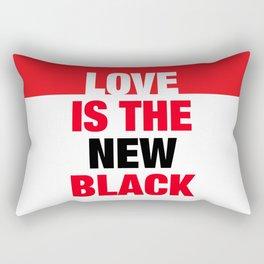 LOVE is the new black IV – Plain Rectangular Pillow