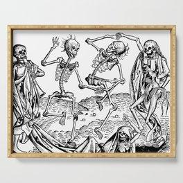 Danse Macabre Serving Tray