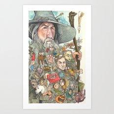 Gandalf's Beard Art Print