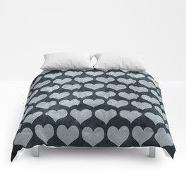 Rustic Hearts Comforters