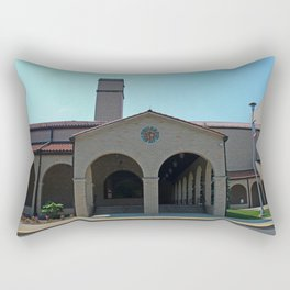 Lourdes University-  Franciscan Center in the Spring V Rectangular Pillow
