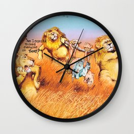the prey Wall Clock