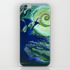 Rage Against Poseidon iPhone & iPod Skin