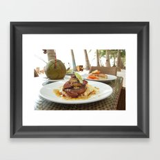 Coconut Delights Framed Art Print