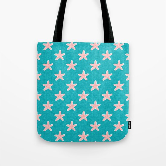 Starfish_Pattern Tote Bag
