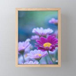 Daisy Love - Pink Marguerite Flower #1 #decor #art #society6 Framed Mini Art Print
