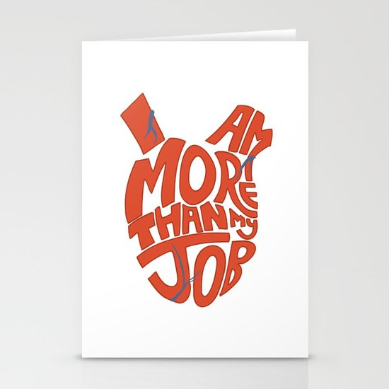 Job =/= Self Stationery Cards