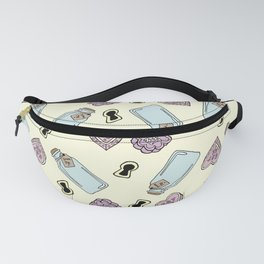 Eat Me, Drink Me - Yellow Fanny Pack