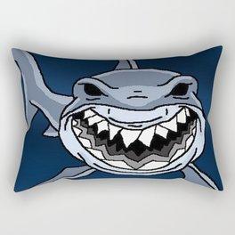 Happy Shark Rectangular Pillow