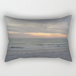 Sunset on the Gulf of Mexico Rectangular Pillow