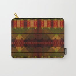 """Full Colors Tribal Pattern"" Carry-All Pouch"