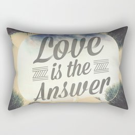 Love Is The Answer / Design Rectangular Pillow