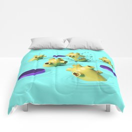 Splash Down Comforters