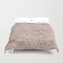 Blush Pink Marble Duvet Cover