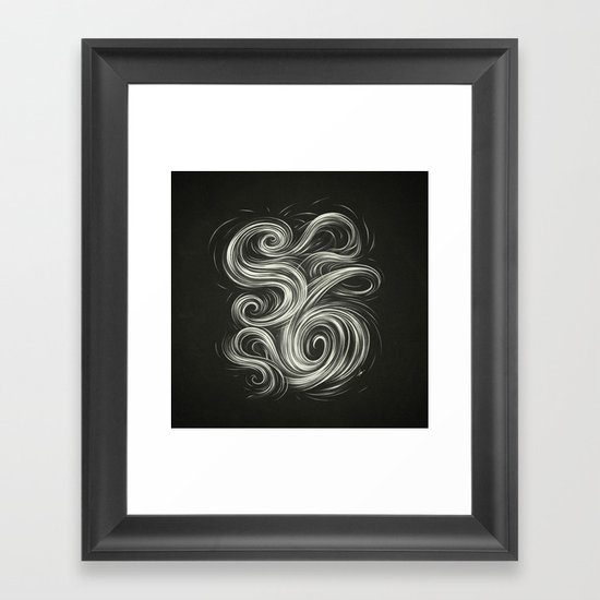 Smoke6 Framed Art Print