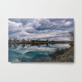 Waco Reflection Metal Print