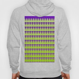 Purple and Neon Scales Hoody
