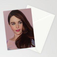 Emilia Clarke Stationery Cards