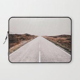 ROAD - HIGH WAY - LANDSCAPE - PHOTOGRAPHY - NATURE - ADVENTURE - SKY Laptop Sleeve