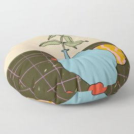 FALL STILL LIFE Floor Pillow