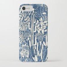 Indigo cacti iPhone 7 Slim Case