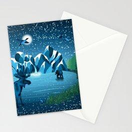 Fireflies Like Stars Stationery Cards