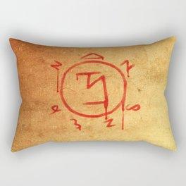 Supernatural Angel Banishing Sigil Rectangular Pillow