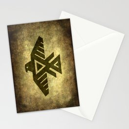 Symbol of the Anishinaabe, Ojibwe (Chippewa) on  parchment Stationery Cards