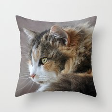 Cassie's Portrait Throw Pillow