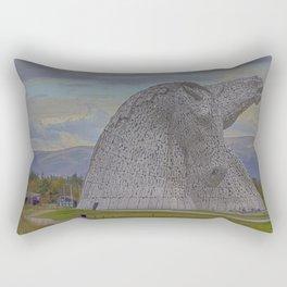 The Kelpies. Rectangular Pillow