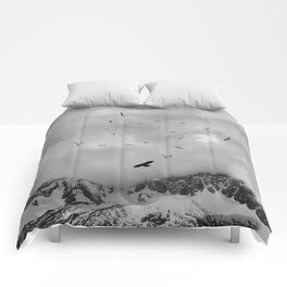 Sacred Flight Comforters