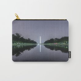 Washington Memorial from the Lincoln Memorial No. 1 Carry-All Pouch
